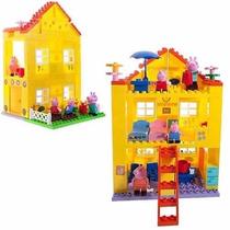 Casa Da Peppa Pig - Para Montar - Tipo Lego - Original
