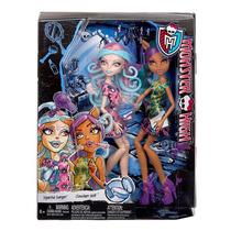 Monster High Dupla Sustos E Maquiagem Ckd05