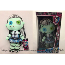 Boneca Pelúcia Frankie Stein Monster High Original Monstra