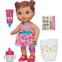 Baby Alive Machucadinho Morena A5392 Parc. S/juros