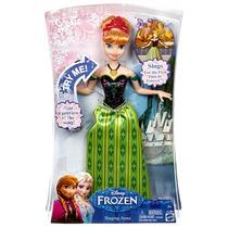 Boneca Anna Cantando Canções Mágicas - Mattel