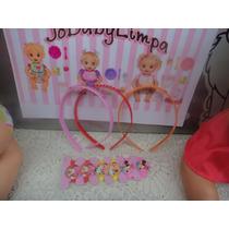 Kit4 P Boneca Baby Alive,miracle Baby,tiara Importada Bonec