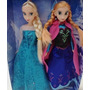 Bonecas Frozen Princesa Ana Ou Rainha Elsa 32cm Kit/1 Unidad