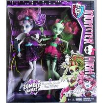 Boneca Monster High Zombie Shake - Rochelle Goyle E Venus