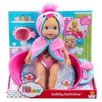 Little Mommy Boneca Hora Do Banho E Banheirinha E Acessório