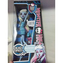 Boneca Monster High Abbey Bominable Dead Tired/pijama