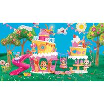 Kit Boneca Mini Lalaloopsy Bolo Musical Casa Bolo Cake