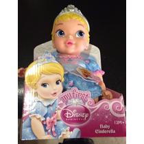 Boneca Baby Princesa Cinderela 29cm Disney P/entrega