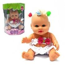 Boneca Bebê Milkinhas Petit Com Chuquinhas - Frete Grátis