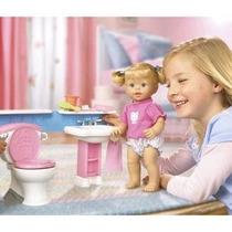 Boneca Little Mommy Banheirinho - Mattel