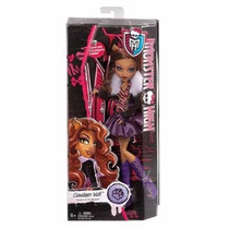 Monster High Mattel Originais Clawdeen Wolf Cfc60