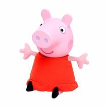 Boneca Peppa Pig Cabeça De Vinil Original Estrela