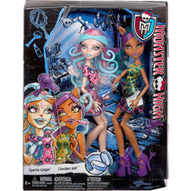 Monster High Dupla Sustos Maquiagem