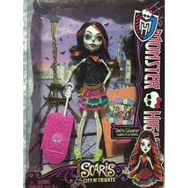 Boneca Monster High Sketita Calaveras Scaris City - Nova