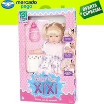 Boneca Mini Baby Faz Xixi, Tem Que Trocar A Fraldinha.