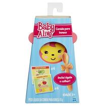 Baby Alive Refil De Comidinha C/ 8 + Prato + Colher Hasbro