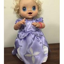 Princesinha Sofia Fantasia Para Baby Alive!