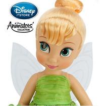 Disney Store Boneca Animators Tinker Fada Bell Sininho