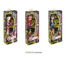 Monster High Cleo, Draculaura E Howleen Creepateria Original