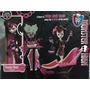 Boneca Monster High Draculaura Com Banheira Raridade Nova
