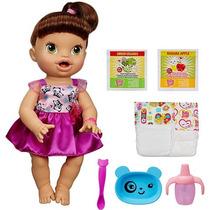 Baby Alive Hora De Comer Morena - Hasbro