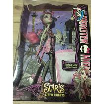 Boneca Monster High Rochelle Goyle Scaris City - Na Caixa