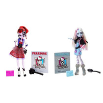Kit C/ 2 Monster High Picture Day Operetta & Abbey Bominable