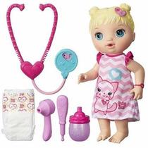 Boneca Baby Alive Cuida De Mim Loira Original Da Hasbro