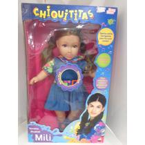Boneca Chiquititas Mili - Baby Brink- Musical 45 Cm