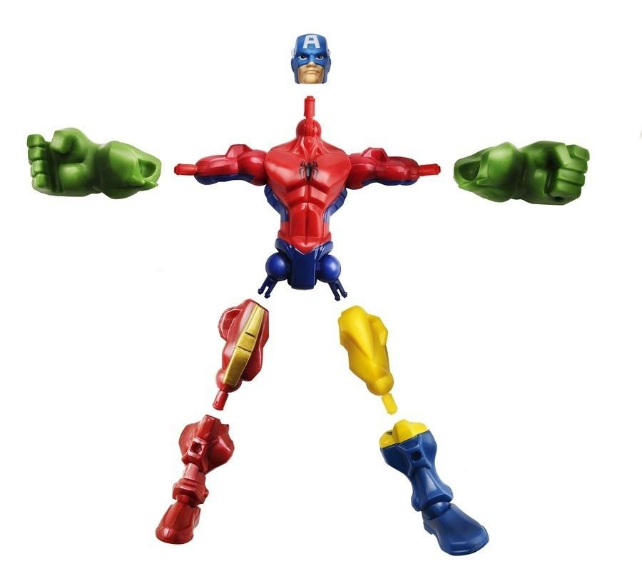 boneco marvel super hero mashers wolverine x men hasbro r 69 99 no mercadolivre. Black Bedroom Furniture Sets. Home Design Ideas