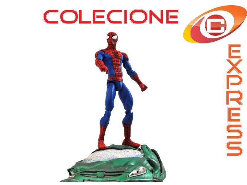 Boneco spider man homem aranha marvel studios select comics