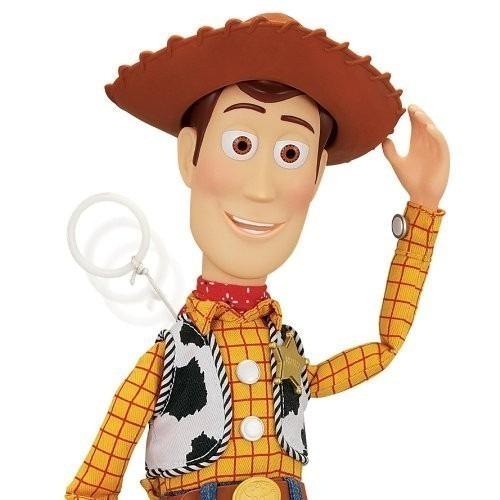 Boneco Xerife Woody Toy Story! Fala 45 Frases Frete Grátis!! - R$ 599 ...