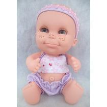 Boneca Babies Expressões- Felicidade- Bee Toys Brinquedos