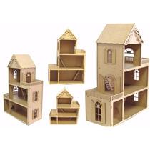 Casa Casinhas Boneca Mdf - Dia Das Crianças