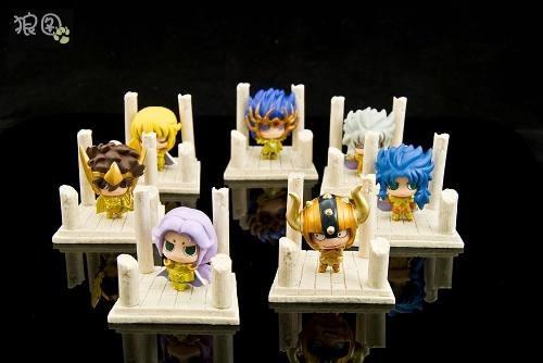 Bonecos Cavaleiros Do Zodíaco Saint Seiya