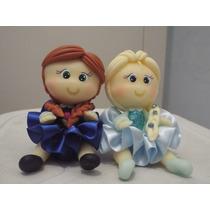 Bonecos De Biscuit Ana & Elsa