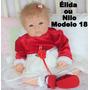 Bebê Reborn Élida Ou Nilo Boneca Que Pare Um Bebe De Verdade