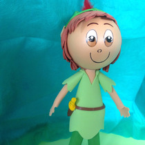 Peter Pan Em Eva 3d 25cm