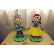 Boneca Branca De Neve E O Príncipe Eva 3d