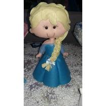 Elsa Em Feltro (frozen)