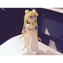 Sailor Moon Topo De Bolo De Biscuit Princesa Serenity