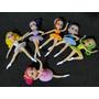 06 Bonecas Bailarinas De 08 Cm Aniversario Decoração Bolos