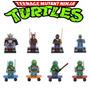 Lego Tartarugas Ninja Kit 8 Pçs Compatível Com Lego