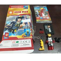 Iron Man Homem De Ferro Sluban Compatível Com Lego Modelo 7