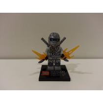 Zane Ninjago Bonecos De Montar = Lego Ninja Go