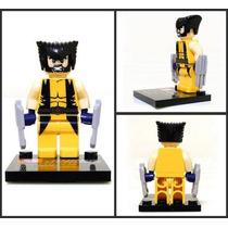 Boneco Wolverine - Tipo Lego