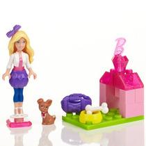 Microbloks - Barbie - Filhote De Cachorro - Mega Bloks