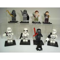 Star Wars Captain Phasma Kylo Ren Unkars Thug = Lego