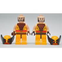 Boneco Wolverine Marvel Super Heroes Compativel Lego