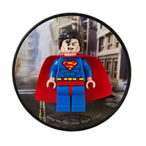 Lego Minifigures Super Heroes Superman 850670 Imã Geladeira
